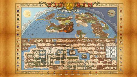 video games  legend  zelda map wallpapers hd