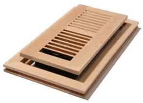 4x12 unstained maple flushmount floor register unfinished maple louvered flushmount floor