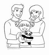 Coloring Parents Coloringnori Template sketch template
