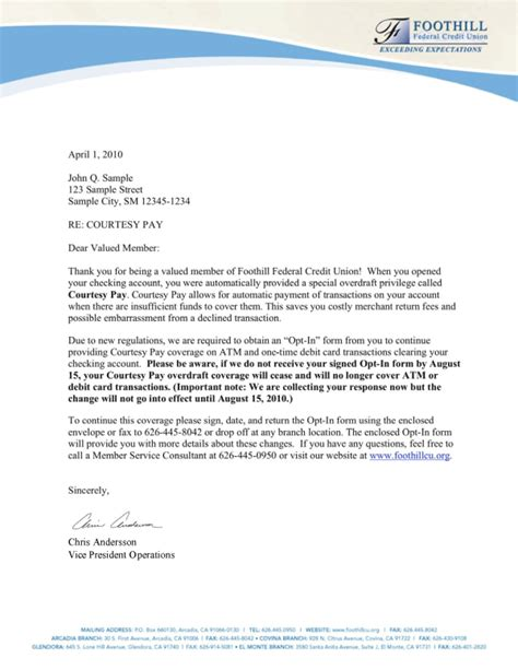 sample letter giving access  account sample business