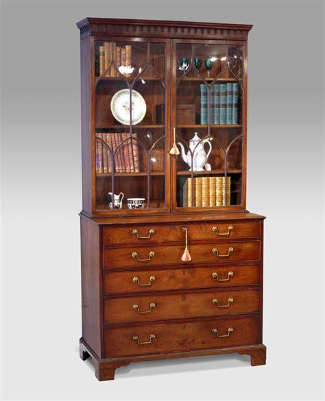 bureau secretaire antique antique secretaire bookcase georgian secretaire bookcase