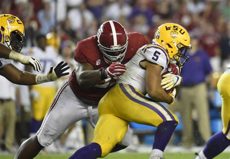 Alabama vs. LSU 2018: Game time, TV information, current ...