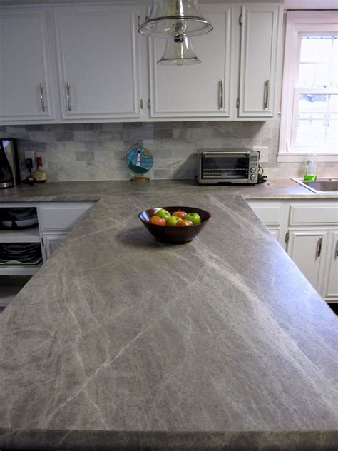 Soapstone Laminate Countertop by It Now Our Kitchen Remodel Costs Kitchen