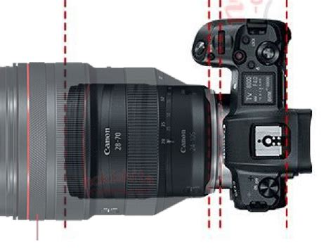competitor news specs of canon eos r and rf 28 70mm f 2l usm lens sony rumors