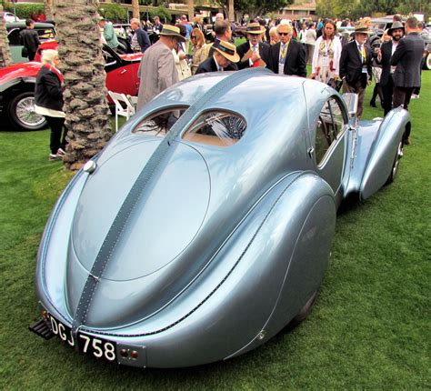 Type 57s were built from 1934 through 1940, with a total of 710 examples produced. 1936 Bugatti Type 57SC Atlantic Coupe takes Best of Show a ...