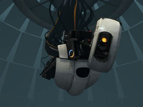 portal 2 glados by half dude on deviantart