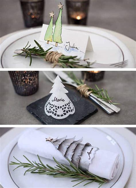 Weihnachtliche Tischdeko Selber Basteln by Namensschilder F 252 R Weihnachten Basteln Handmade Kultur