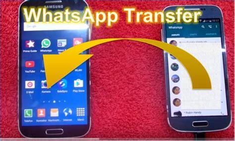 whatsapp daten auf ein anderes smartphone uebertragen