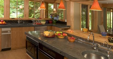 kitchen islands with granite tops concrete countertops photos how to and cost the