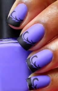 Easy halloween nail design art