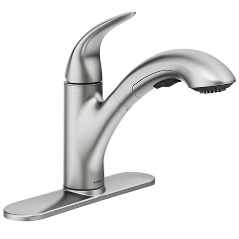 MOEN   Medina 1 Handle Pull Out Kitchen Faucet   Stainless