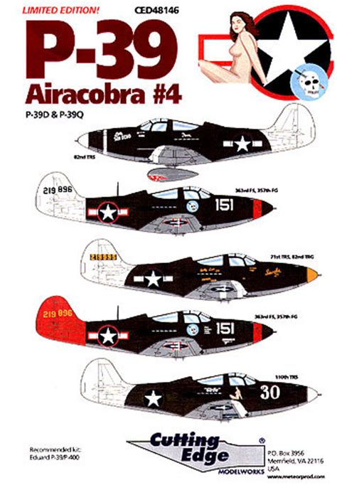 P39 Airacobra Part 4 Decal Review By Rodger Kelly