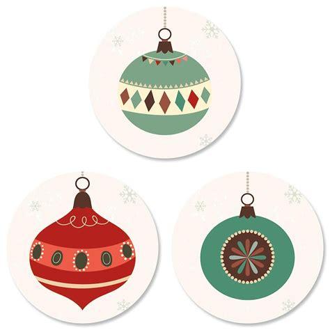 ornament trio envelope sticker seals current catalog