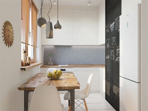 Airy and Minimalistic One Room Apartment with Eco Style
