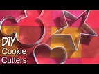 DIY: How to make a Cookie Cutter - YouTube