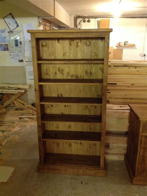 Pine Bookcases Furniture by Pine Bookcases Derbyshire Made Bookcase