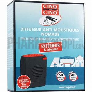 Anti Moustique Exterieur Efficace : diffuseur anti moustiques nomade cinq sur cinq ~ Dode.kayakingforconservation.com Idées de Décoration