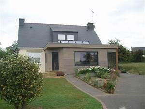 argoet verandas loisirs verandas et extensions morbihan With extension maison toit plat