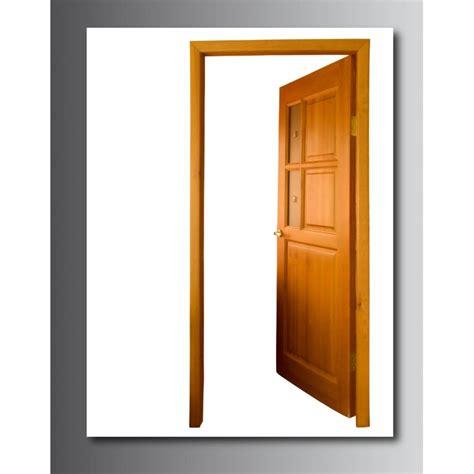 tableaux toile d 233 co rectangle verticale porte ouverte stickers autocollants
