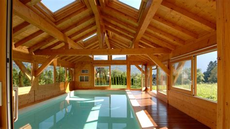 abri piscine bois lamelle colle abris en bois pour baln os spas piscines jacousis abri piscine bois lamelle colle agaroth