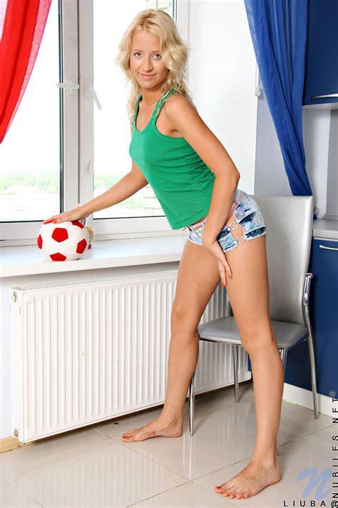featuring nubiles liuba in sexy schoolgirl