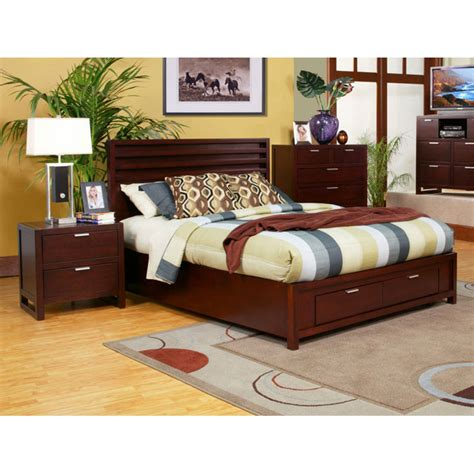 Nightstands For Platform Beds by Camarillo Storage Platform Bed With Nightstands Dcg Stores