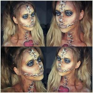 Halloween Make Up Puppe : 25 best ideas about voodoo doll makeup on pinterest voodoo halloween makeup scary doll ~ Frokenaadalensverden.com Haus und Dekorationen