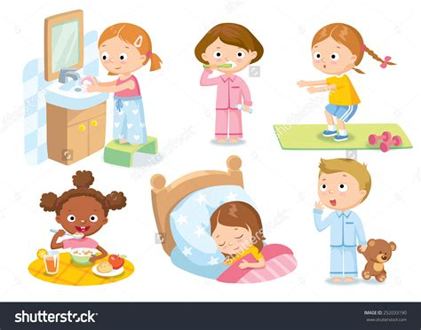 toddler schedule clipart clipground