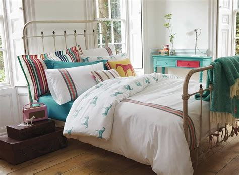 Joules Ribbon Stripe Horse Bed Linen Kids Pinterest