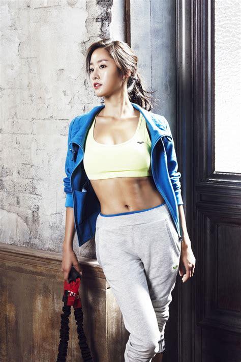 jeon hye bin photoshoot arena fallwinter  sports