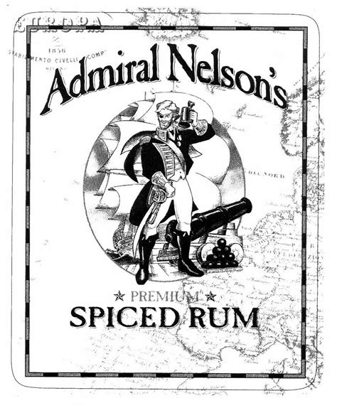 Trademark information for Admiral Nelson's SPICED RUM from ...