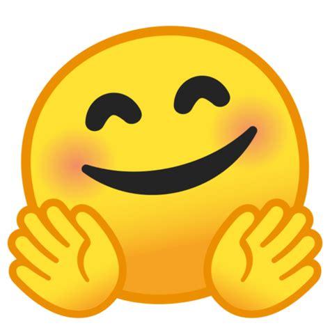 faccina che abbraccia emoji