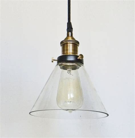 glass pendant light edison antique l kitchen island