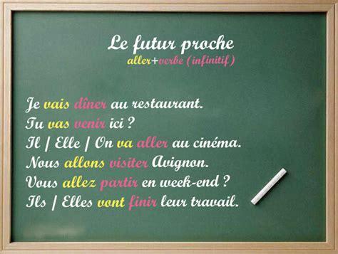 bureau restaurant le futur proche cours de français en ligne pour les