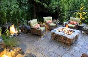 14, Landscaping, Ideas, For, A, Backyard, Fire, Pit