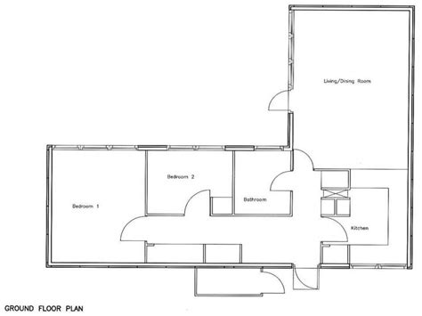 two bedroom house floor plans 2 bedroom bungalow floor plan 2 bungalow house plans