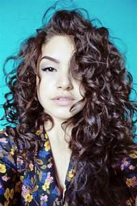 Cool Hairstyle 2014: Dark Brown Curly Hair Tumblr
