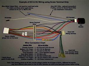 Sony Radio Wiring Harness Diagram Car Download Cool Extraordinary