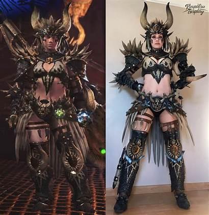 Hunter Monster Nergigante Cosplay Armor Zbroja Najlepsze