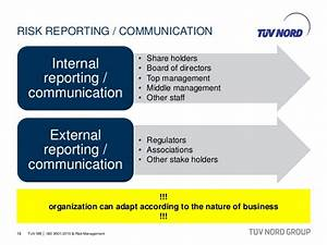 20150403 - TUV ME - ISO 9001 2015 and Risk Management