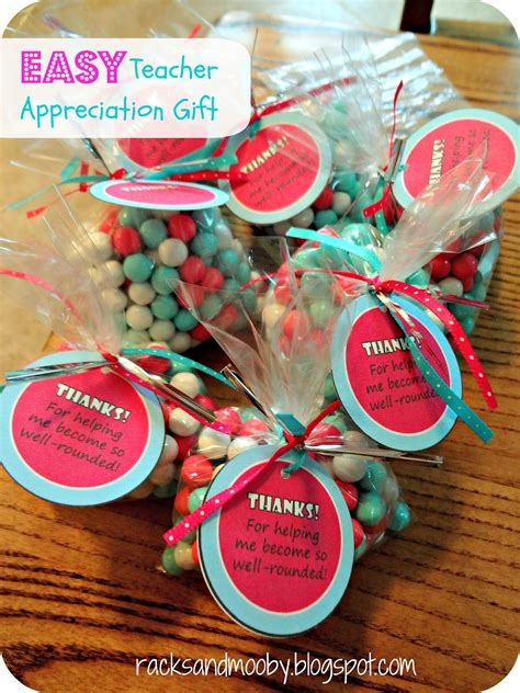 cheap teacher christmas gifts racks and mooby inexpensive and easy appreciation gifts
