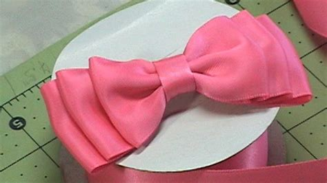 how to make a bow with ribbon diy make hair bow ribbon bow bow tie tutorial 1 diy youtube