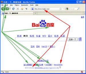 Baidu in Chinese Writing