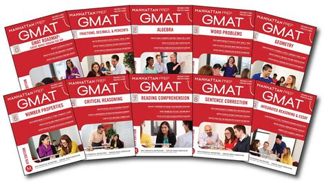Complete Gmat Strategy Guide Set  Book By Manhattan Prep  Official Publisher Page Simon