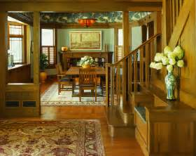 Craftsman Style Home Interiors 10 Green Dining Room Design Ideas