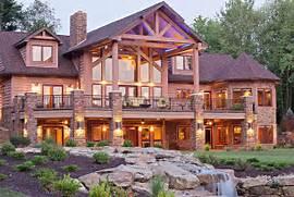 Luxury Log Home Designs by Custom Log Homes Hybrid Log Homes Luxury Log Homes Energy Efficient Log Ho