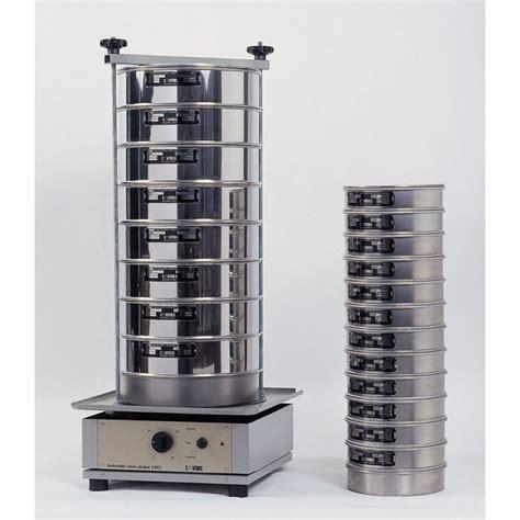 electromagnetic sieve shaker aggregates testing equipment controls