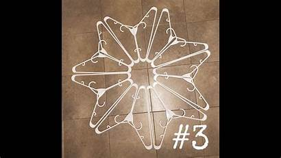 Hanger Snowflake Instructions Tutorial
