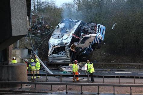 lorry crash victim pictured  essex bridge shut