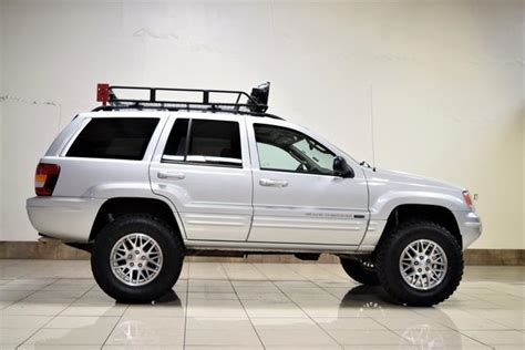 2004 jeep grand roof rack 2004 jeep grand lifted roof rack big tires clean
